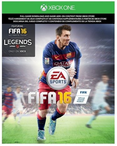 FIFA 16 Xbox One Download code